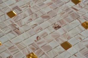 Stakleni mozaik White Gold G11+Ha01+Ha02